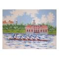 Rowing Needelpoint Canvas