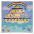 Noah's Ark Needlepoint Canvas