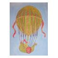 Hot Air Balloon 3 Needlepoint Canvas
