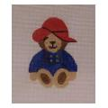 Teddy Bear Needlepoint Canvas