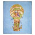 Hot Air Balloon Needlepoint Canvas
