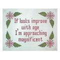 Age Sign Needlepoint Canvas