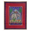 Arabian Elephant Needlepoint Canvas
