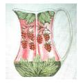 Berry Pitcher Needlepoint Canvas