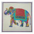 Colorful Elephant Needlepoint Canvas