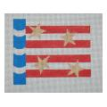 Stars with Stripes Needlepoint Canvas