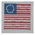 Colonial Flag Needlepoint Canvas
