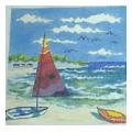 Sailboat Needelpoint Canvas