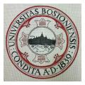 Boston University Needlepoint Canvas