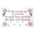 Diamonds Sign Needlepoint Canvas
