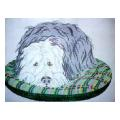 Sheep Dog Needlepoint Canvas