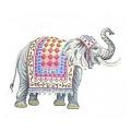 Elephant Needlepoint Canvas