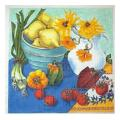Fruit and Flowers Fruit & Leaf Needlepoint Canvas