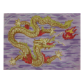 Golden Dragon Needlepoint Canvas