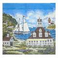 Harbor View Needelpoint Canvas