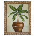 Potted Plant Fruit & Leaf Needlepoint Canvas