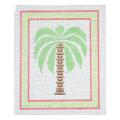 Palm Tree 2 Fruit & Leaf Needlepoint Canvas