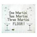 Martini Sign Needlepoint Canvas