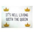 Queen Sign Needlepoint Canvas