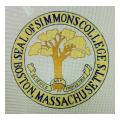 Simmons College Needlepoint Canvas