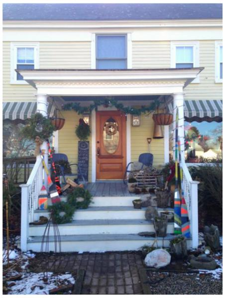 Knit & Needlepoint's new home at 173 Port Road, Kennebunk, ME
